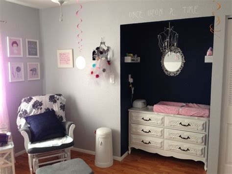 pink girls bedroom with ikea stockholm rug transitional our baby girl s nursery gray white light pink and navy
