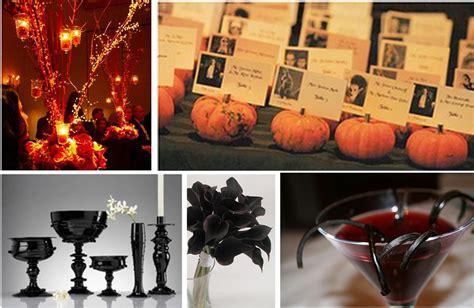 Details: Eerie Halloween Wedding Ideas