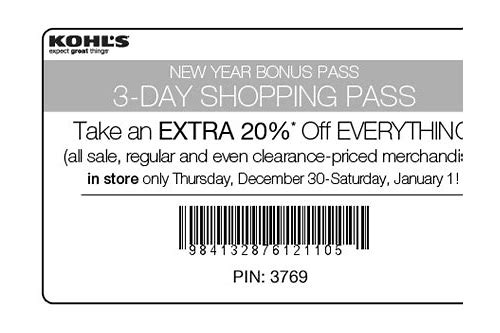 kohls 30 off coupon restrictions