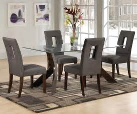 glass dining room table set small glass dining room table sets decor references
