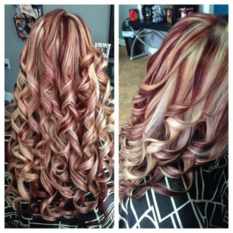 blonde and burgundy hairstyles burgundy and blonde hairstyle google search hairstyles