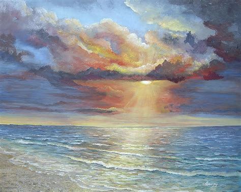relaxing paintings fine art america calm painting by luczay