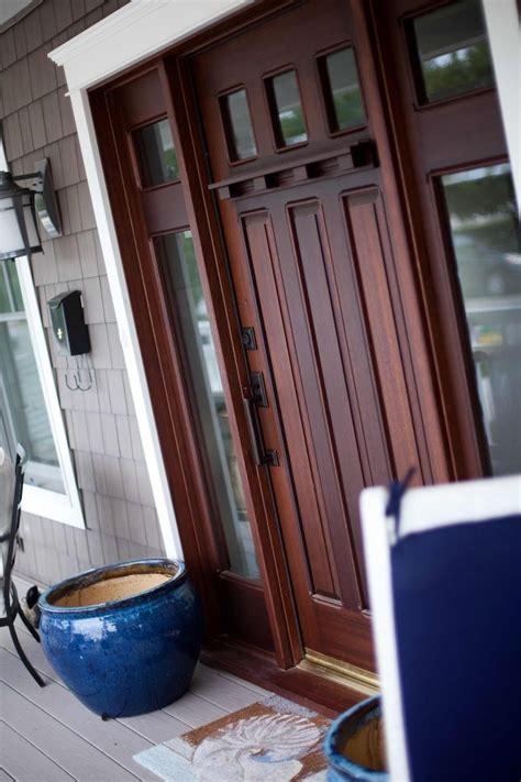 custom craftsman style front door  legacy restoration