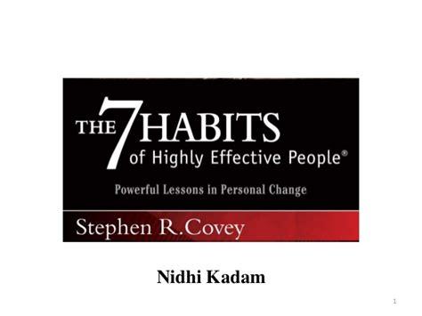 7 Habits Of Highly Effective 7 Kebiasaan Manusia Stephen R 7 habits of highly effective