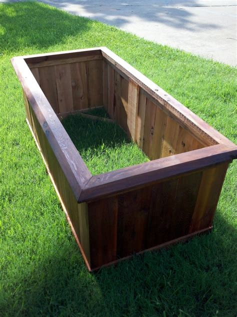 Custom Planter Box by 17 Best Images About Cedar Planters On The