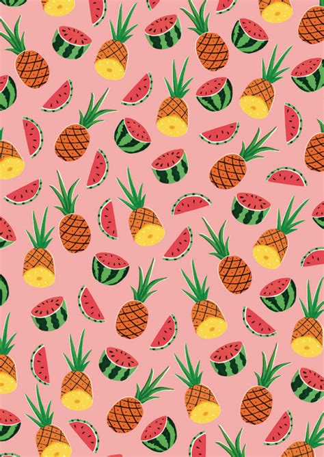 summer pattern tumblr pineapple patterns tumblr