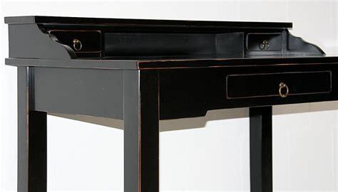 massivholz sekret 228 r konsolentisch schreibtisch holz - Schreibtisch Holz Schwarz