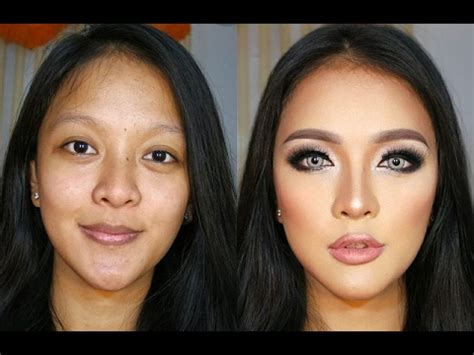 tutorial makeup halloween indonesia transforming 3d contour makeup tutorial for indonesian