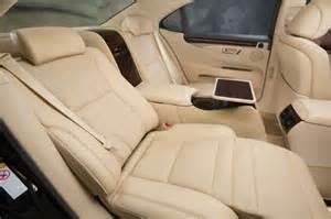 Lexus Ls 460 Reclining Back Seat 2014 Lexus Ls 460 L Rear Seats Reclined Photo 6