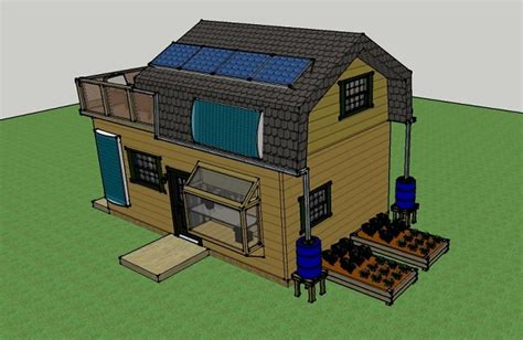off grid house design misty robinson s 16x25 off grid house simple solar homesteading