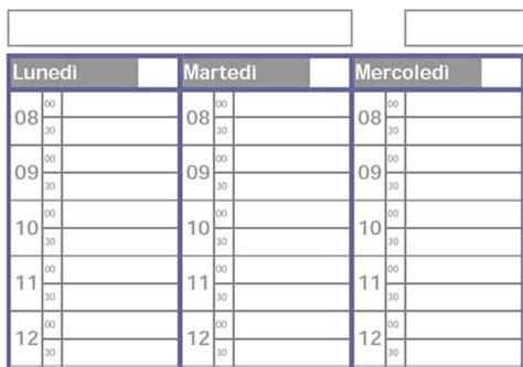 planning settimanale da scrivania planner settimanale da stare