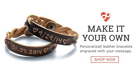 Personalized Name Bracelet   Free Engraving on over 7 styles of Personalized Name Bracelets