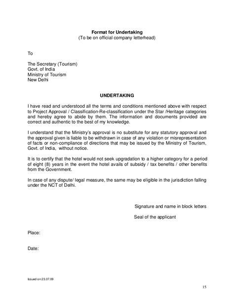 Complaint Letter Format Dubai Indian Hotel Rating Guidelines