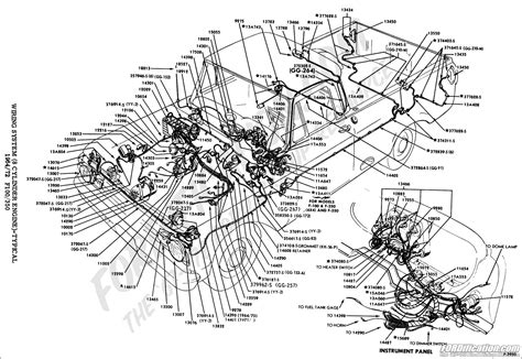 71 ford f100 wiring diagram ford truck technical drawings and schematics section i electrical and wiring