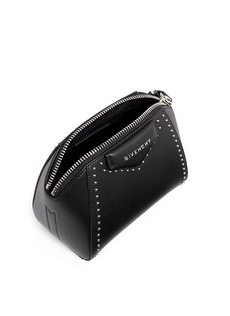 Givenchy Pouch givenchy antigona leather cosmetics pouch in black lyst