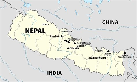 himalayan mountains map himalayan mountain map himalayan peaks map himalayan peaks map in nepal