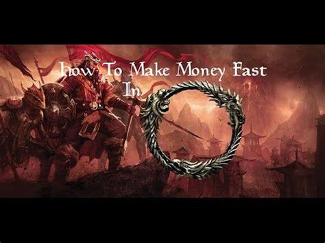 How To Make Money Elder Scrolls Online - how to make money fast elder scrolls online tutorial youtube