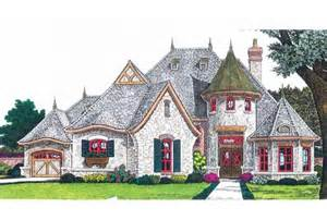 Floor Plans For Narrow Lots eplans french country house plan fairytale cottage