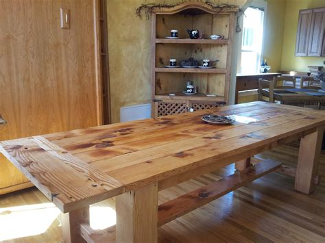 outstanding solid wood kitchen table placed as classic