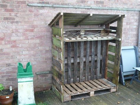 building firewood rack with roof firewood storage ideas the owner builder network
