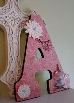 How To Decorate Wooden Letters For Nursery 1000 Images About Wooden Letter Ideas On Pinterest Decorated Wooden Letters Wooden Letters