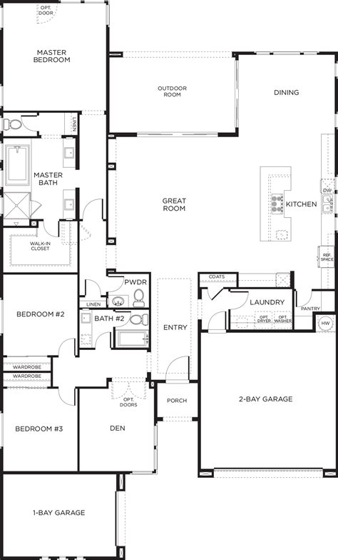 floor plans keystone homes of plan 4 keystone las vegas