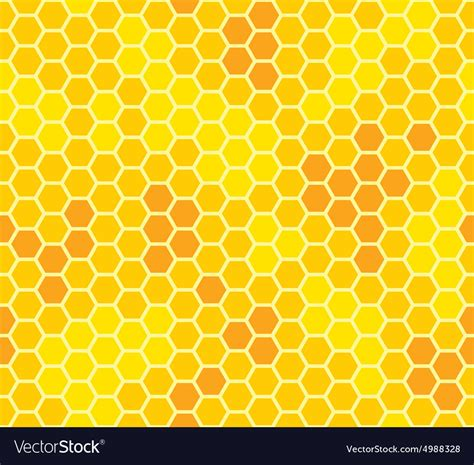 honey pattern vector honeycomb with honey seamless pattern royalty free vector