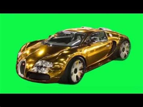 bugatti wheels gold free green screen gold bugatti with turning wheels