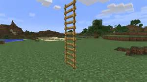 minecraft how to make floating ladders arqade