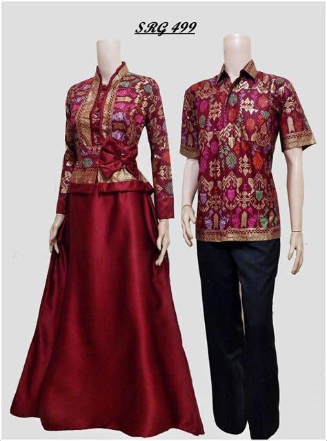 Baju Batik Gamis Pasangan jual beli batik sarimbit gamis pesta baju pasangan
