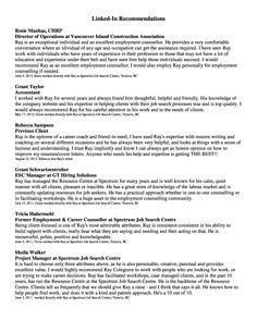 Resume Recommendations by 1000 Images About Resume And Recommendations On