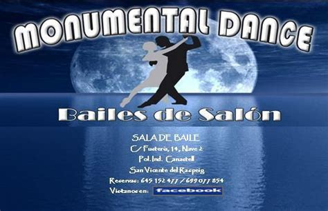 bailes de salon alicante monumental dance bailes de sal 243 n
