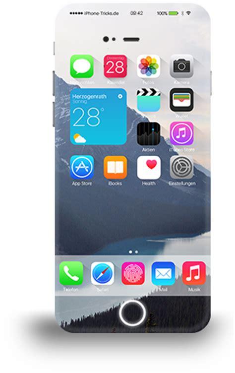 imagenes png iphone iphone 7 คอนเซ ปต พร อมป มโฮมอ จฉร ยะบนหน าจอ และ ios 10