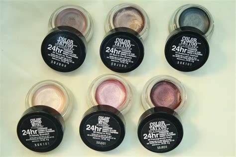 color tattoo cream eyeshadow maybelline holy grail maybelline color tattoo 24 hour cream