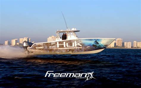 invincible boats logo freeman boatworks joins as a diamond sponsor of 2015 huk