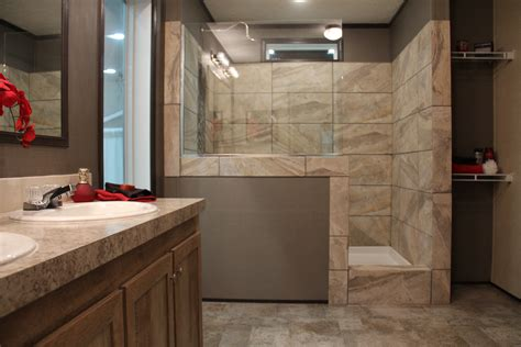 Bathroom Showers Transform That Garden Tub To The Ultimate Standing Mobile Home Shower