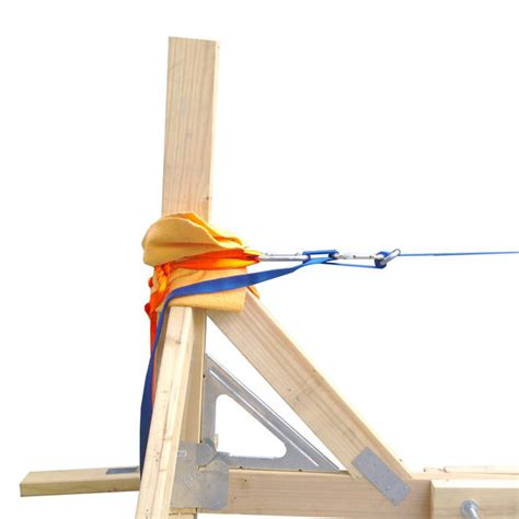 Building A Climbing Rack by Standalone Slackline Structure 5 Steps With Pictures