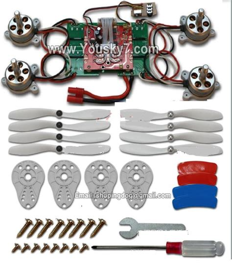 Sparepart Motor Cover Quadcopter Drone Syma X8 upgrade brushless motor kit for syma x8 x8c x8w x8g