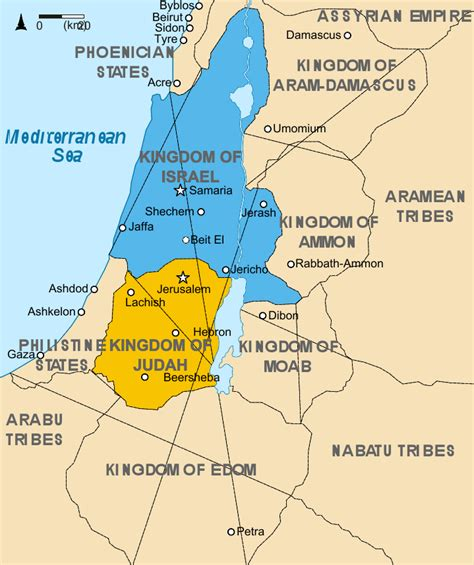 ancient middle east map judah judea map