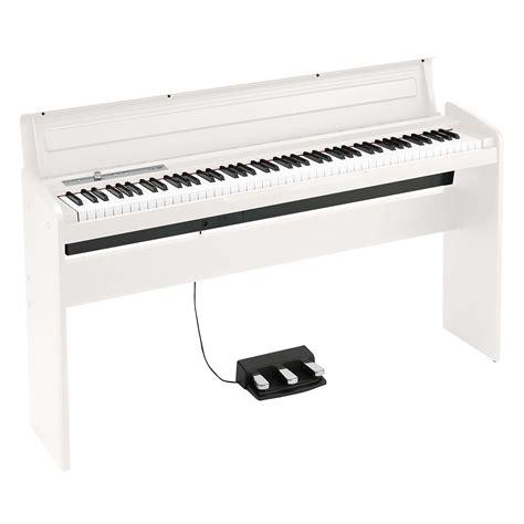Korg Piano Digital Lp180 Wh White korg lp 180 wh 171 digital piano