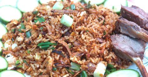 cara membuat nasi goreng ikan bilis nasi goreng kung arab resep masakan