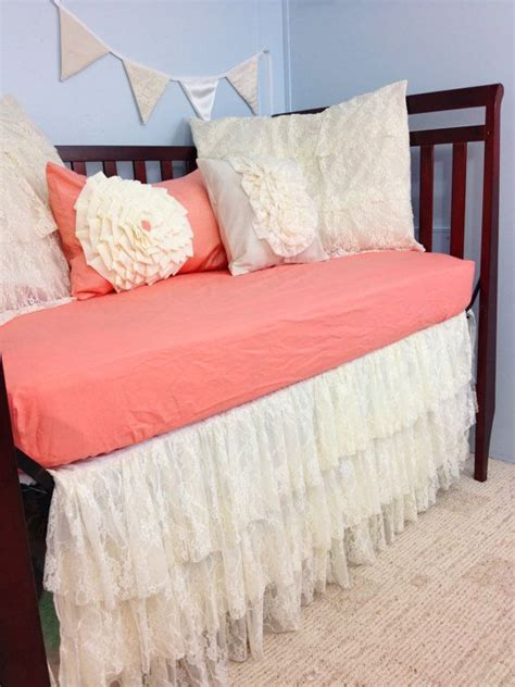 baby bedding crib bedding shabby chic vintage lace