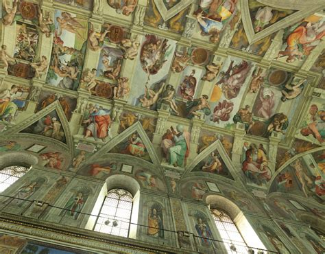 Sistine Chapel Ceiling Tour by Green Gardenia Simple Inspiring April 2014