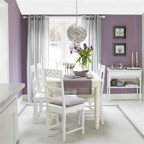 purple dining room ideas modern interior design