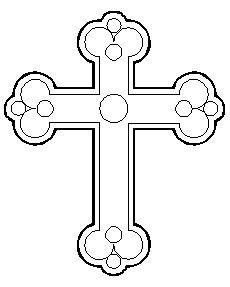 dibujos para colorear de la cruz dibujo de una cruz para colorear en semana santa