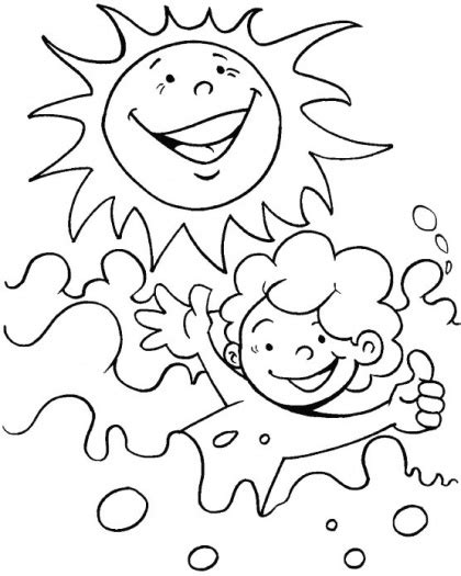 best sheets for summer 1000 images about summer coloring pages on pinterest