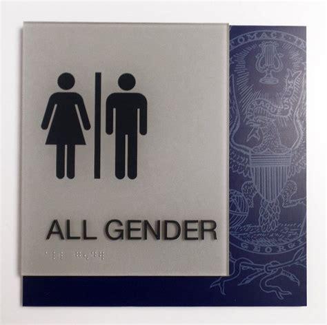 all gender bathroom sign 25 best ideas about all gender restroom on pinterest