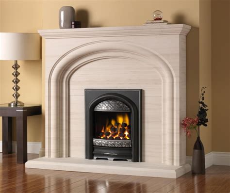gas or electric fireplace limestone fireplaces stoke gas electric