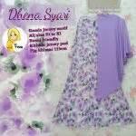 Dinar Syari gamis modern minda maxi model busana muslim dress remaja terbaru