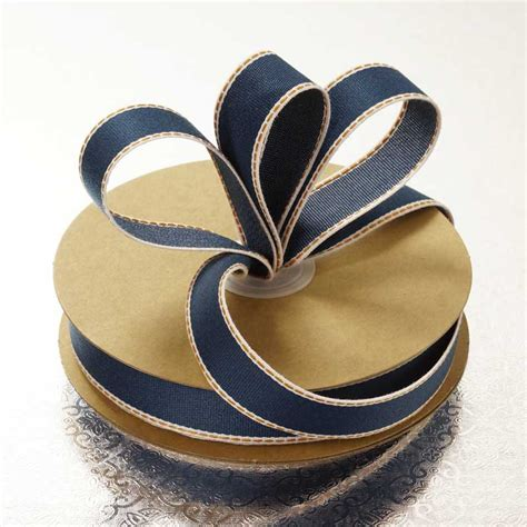 Denim Ribbon of denim ribbon
